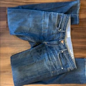 Gap 1969 teal straight jean